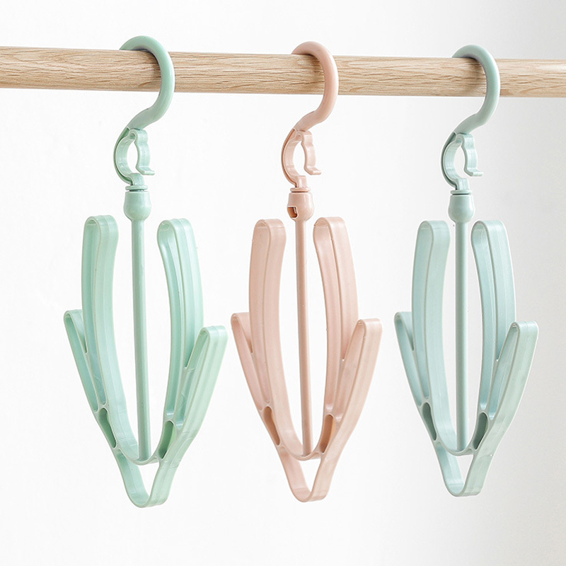 2 Hooks Hanging Shoes Organizer to Hang Shoes or Small Clothes for Drying Outside 5