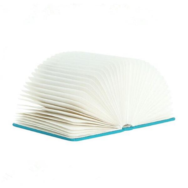 Folding livro lâmpada luz da noite levou candeeiro de mesa decorativo arte da parede casa novelty arte decorativa luzes decorativas secretária/mesa/parede