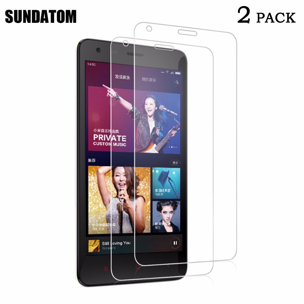 Redmi 2 Premium Tempered Glass Screen Protector For Xiaomi Redmi2 Red Rice Hongmi