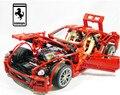 1322 pçs/set conjuntos de blocos de construção do modelo 1:10 carro de corrida fórmula 559gtb lepin educacional diy bricks brinquedos para crianças 3333