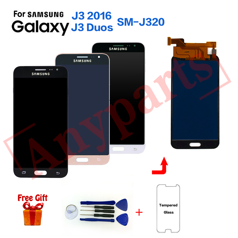 TFT For Samsung J3 2016 J320F Display lcd Screen replacement for Samsung SM J320G J320M J320FN