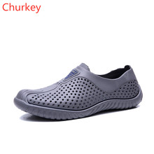 Summer Outdoor Beach Shoes Breathable Men Sandals Lightweight Slip On Water Flat Travel Toning Zapatillas Fashion