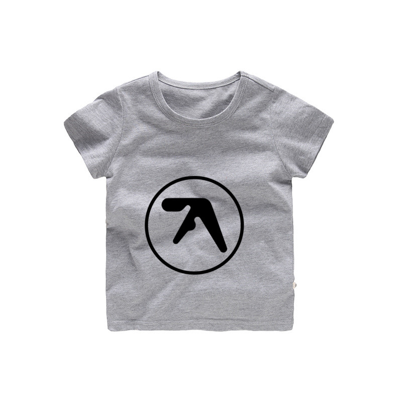 2-12 jahre Kinder <font><b>Aphex</b></font> <font><b>Twin</b></font> Drucken <font><b>T</b></font> <font><b>shirt</b></font> Baby Mädchen Cartoon Sommer Tops Kinder Große Casual Kleidung b240 image