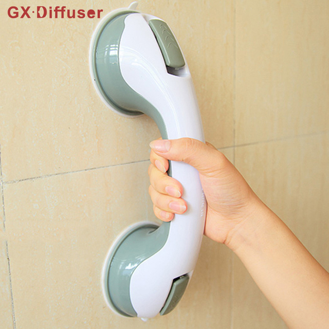 Bathroom Grab Bar Safety Helping Handle Non slip Support Vacuum ...