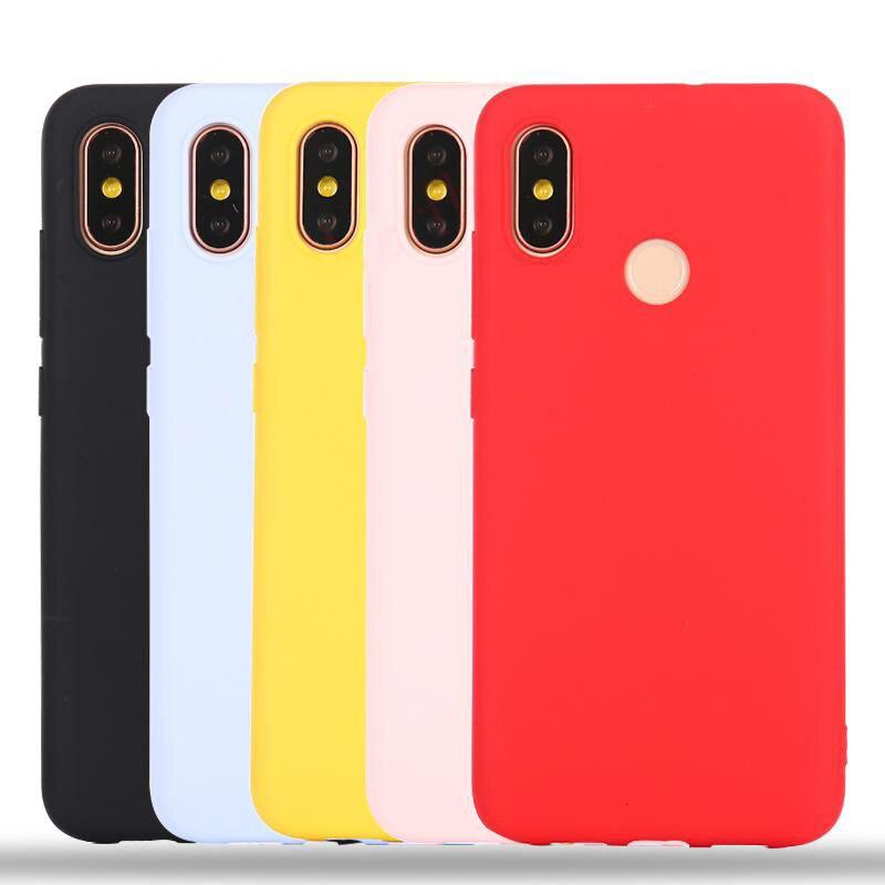 Mi 8 Lite Case For Xiaomi Redmi Note 7 Case Pocophone F1 5A 5 Plus 6A 4X 4A S2 SE A2 Mix 2S Max 3 Redmi 6 Pro Cases Covers Candy