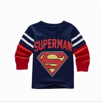 SAILEROAD 2-7 T Bahar Sonbahar Çocuk Çocuk Erkek Uzun Kollu T Shirt Karikatür çocuk Giyim Kız T-shirt erkek Giyim