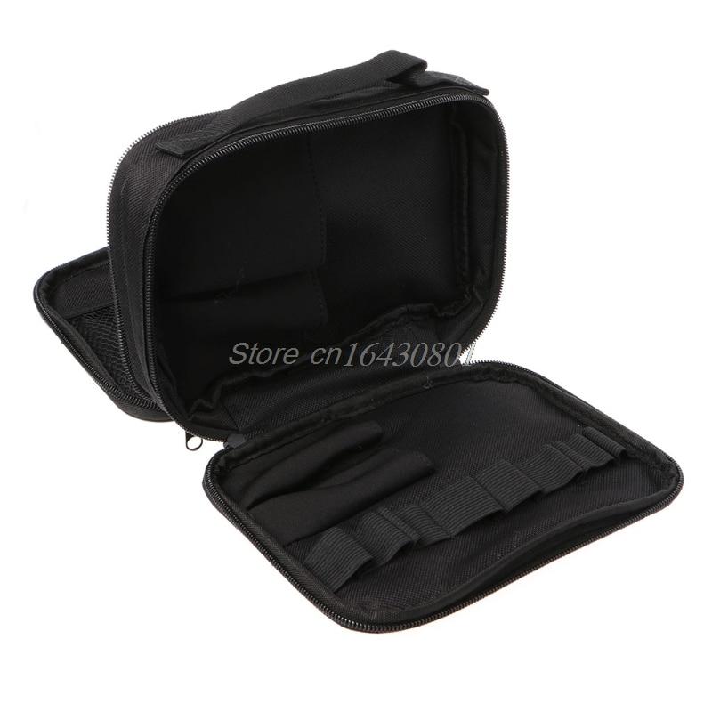 Double-deck Pocket Tool Kit Bag For Electronic Cigarette DIY Tools Carry Bag Case Pocket S08 Best Quality Whosale&DropShip