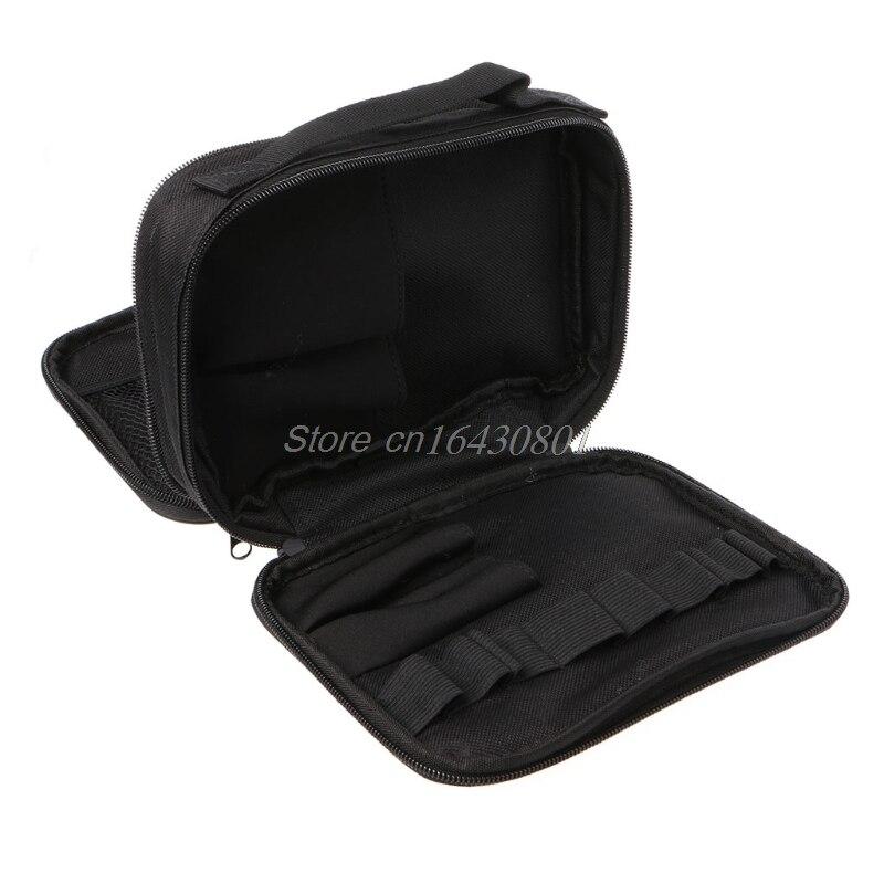 Double-deck Pocket Tool Kit Bag For Electronic Cigarette DIY Tools Carry Bag Case Pocket S08 Best Quality