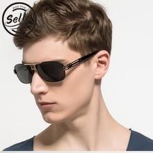 Sella High Quality Men Square Polarized Sunglasses Aluminum Magnesium Alloy Glasses Eyewear Driving Fishing Goggle Gafas