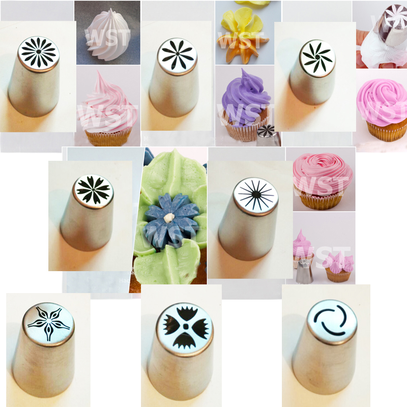 Cake Decorating Tips For Smooth Icing : Online Get Cheap Set of Russian Piping Tips -Aliexpress ...