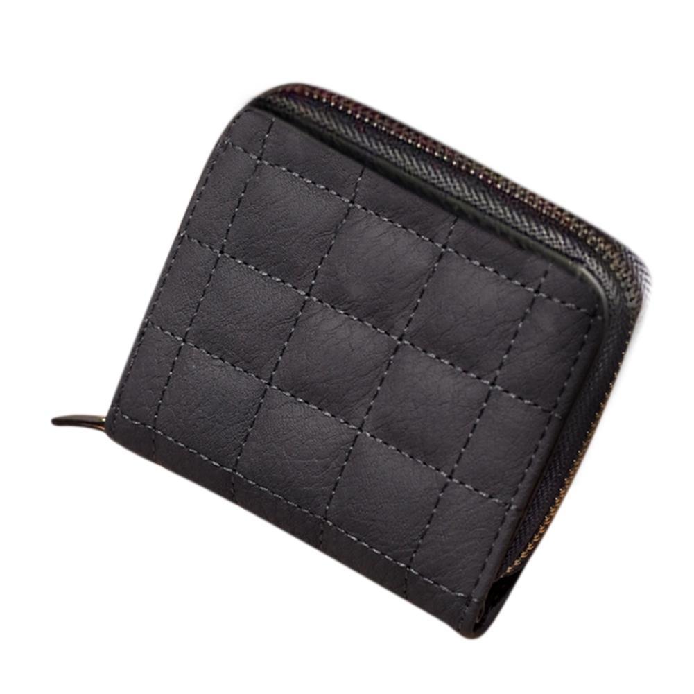 Banabanma Kvinnors Gitter Syntetisk Läder Kreditkort Hållare Kort - Plånböcker - Foto 4