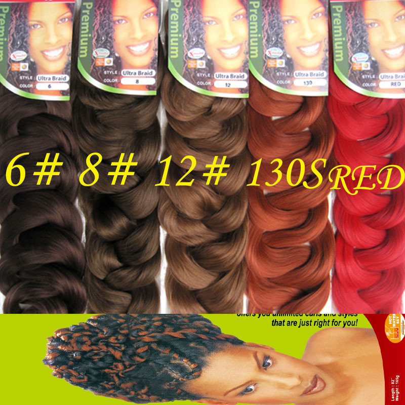 Free Shipping Top Natural Synthetic Hair Extensions