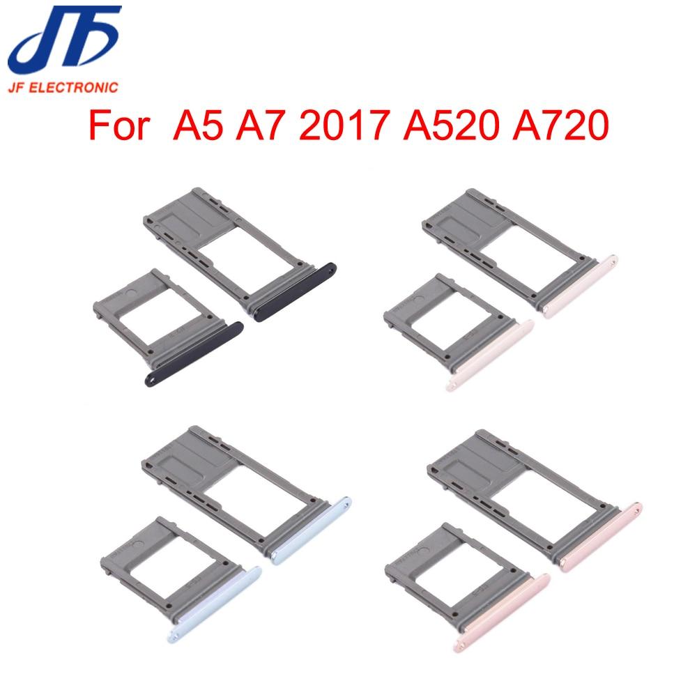 50PCS Lot Single Dual SIM Card Tray Slot SD Card Holder Adapter Repair Parts For Samsung