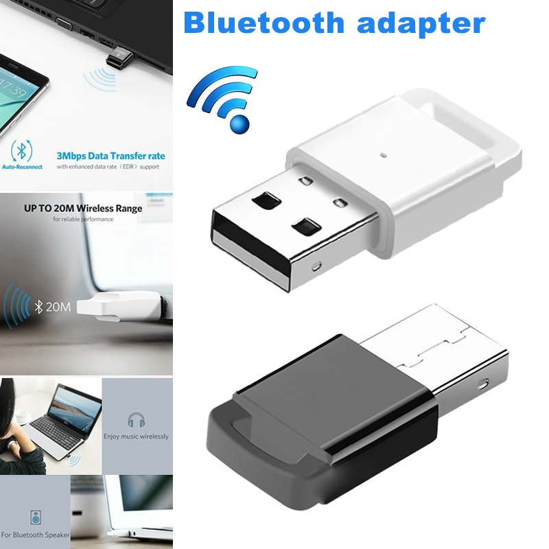 1 Pcs Usb Bluetooth Adapter 4,0 Dongle Musik Radio Empfänger Sender Für Computer