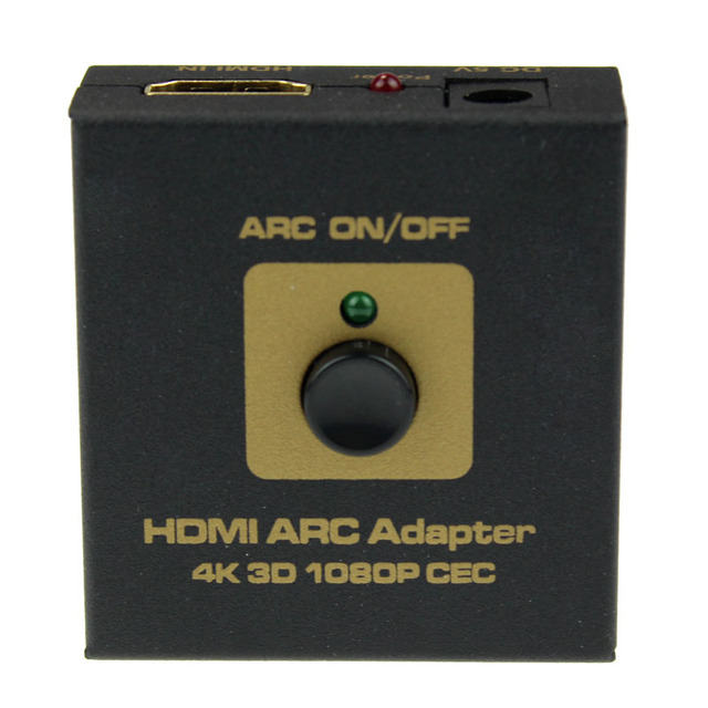 High Quality Support CEC Function HDMI ARC Adapter to HDMI & Optical Audio Converter 4k 3D 1080P CEC
