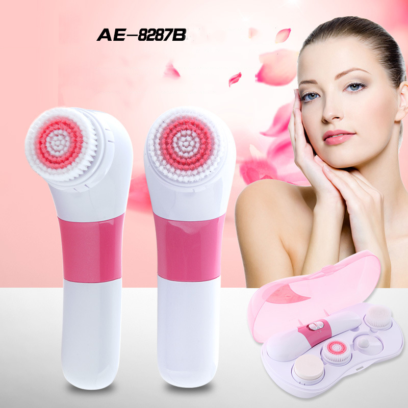 Electric Facial Cleansing Brush Massager Personal Care Products Cleansing Devices Brush For Face Beauty Health цена