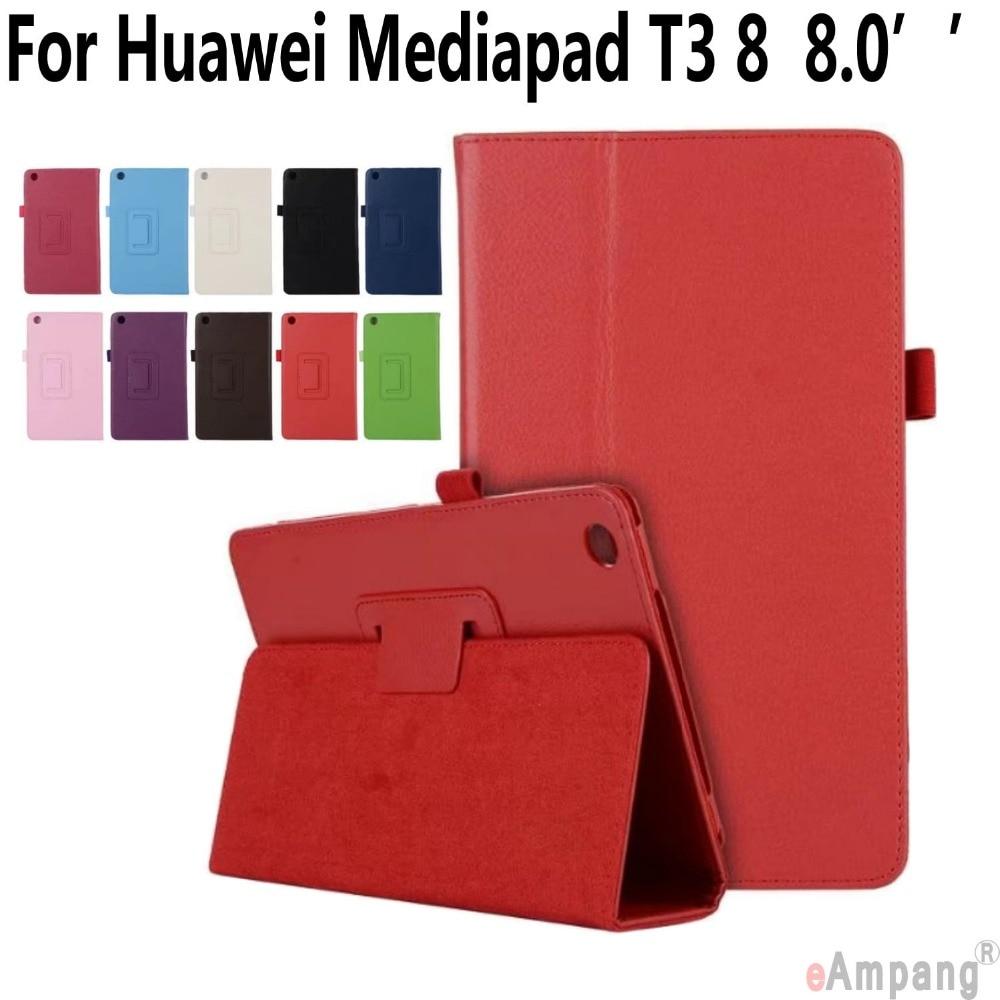 Case for Huawei Mediapad T3 8.0 inch Kickstand Ultra Thin Smart Wake Up Cover for Huawei Mediapad T3 8.0 with Pen Holder