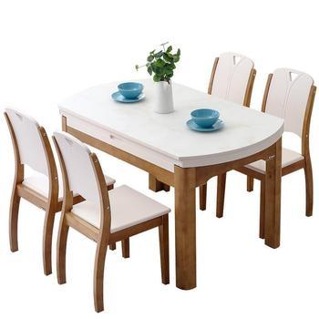 Marmol Set Eettafel Tavolo Da Pranzo Salle Krippe Moderne EIN Langer ...