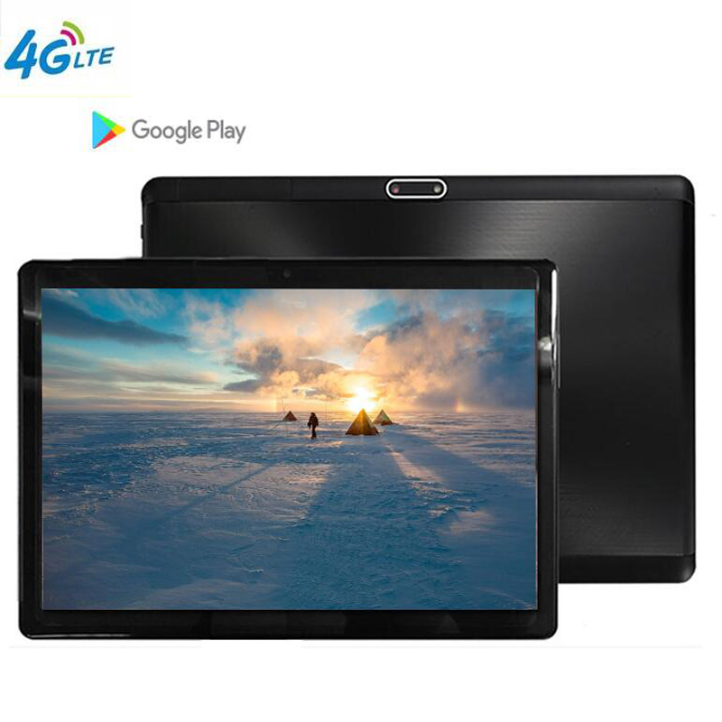 S119 10.1 Inch Tablet MTK8752 Octa Core 4GB RAM 64GB ROM Dual SIM 8.0MP GPS Android 8.1 1280*800 IPS The Tablet Kids 4G LTE FDD