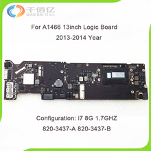 Original A1466 Logic Board for MacBook Air 13.3″ i7 8GB 1.7GHZ A1466 Motherboard 820-3437-B 2013 2014 year