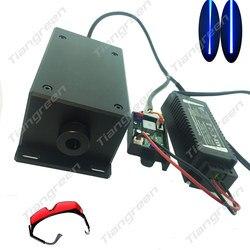 17w High power diode Fokus Blau modul 450nm TTL Treiber für cnc laser stecher Metall 17000mw
