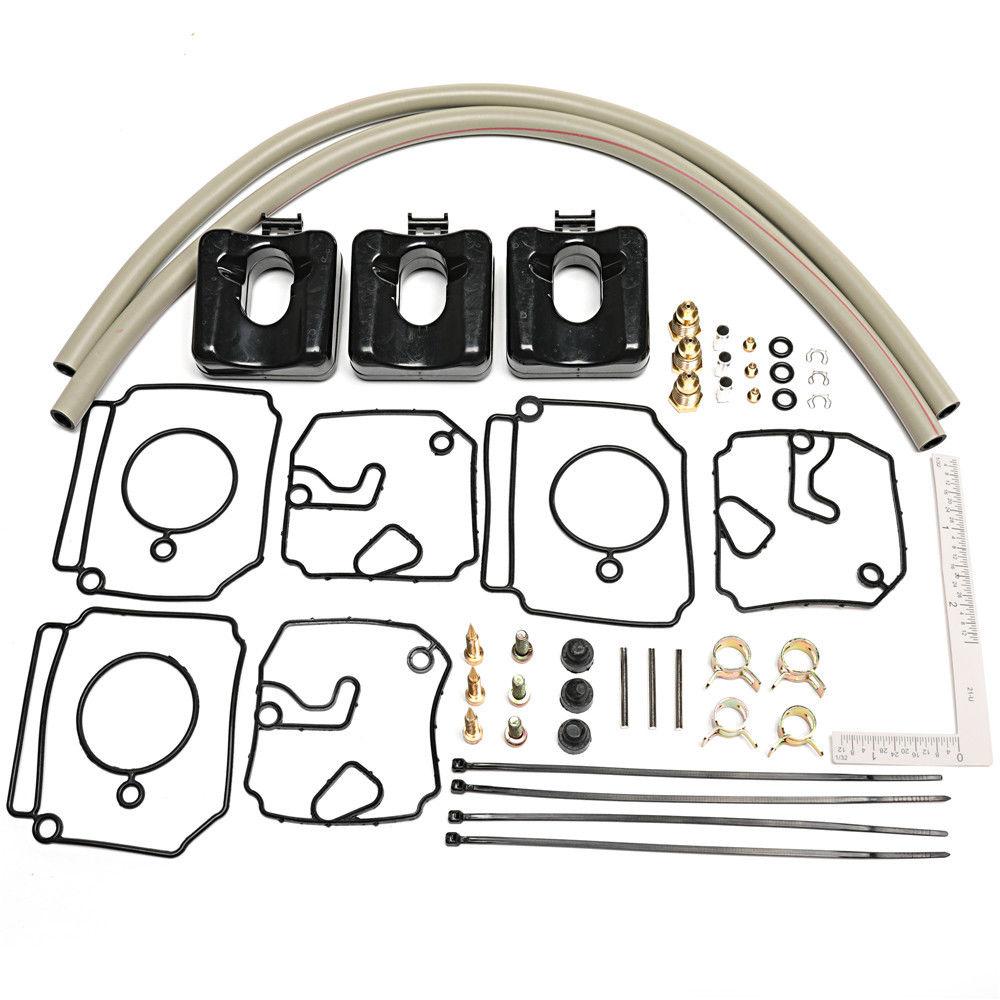 Carburetor Repair Kit for Yamaha 40 50HP Outboards Carburetor Replaces Yamaha 6H4 W0093 03 00 6H4