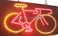 CHENXI direct selling Graphics custom led sign 19X19 Inch indoor Ultra Bright business bicycle store signboard