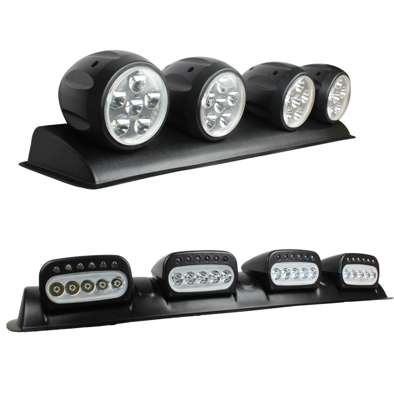 XuanBa 100W LED Light Bar DRL 12V Car Discovery Roof Lights SUV Dome Light  4x4 Offroad Roof Fog Lamp Hunting Emergency Lights In Car Light Assembly  From ...