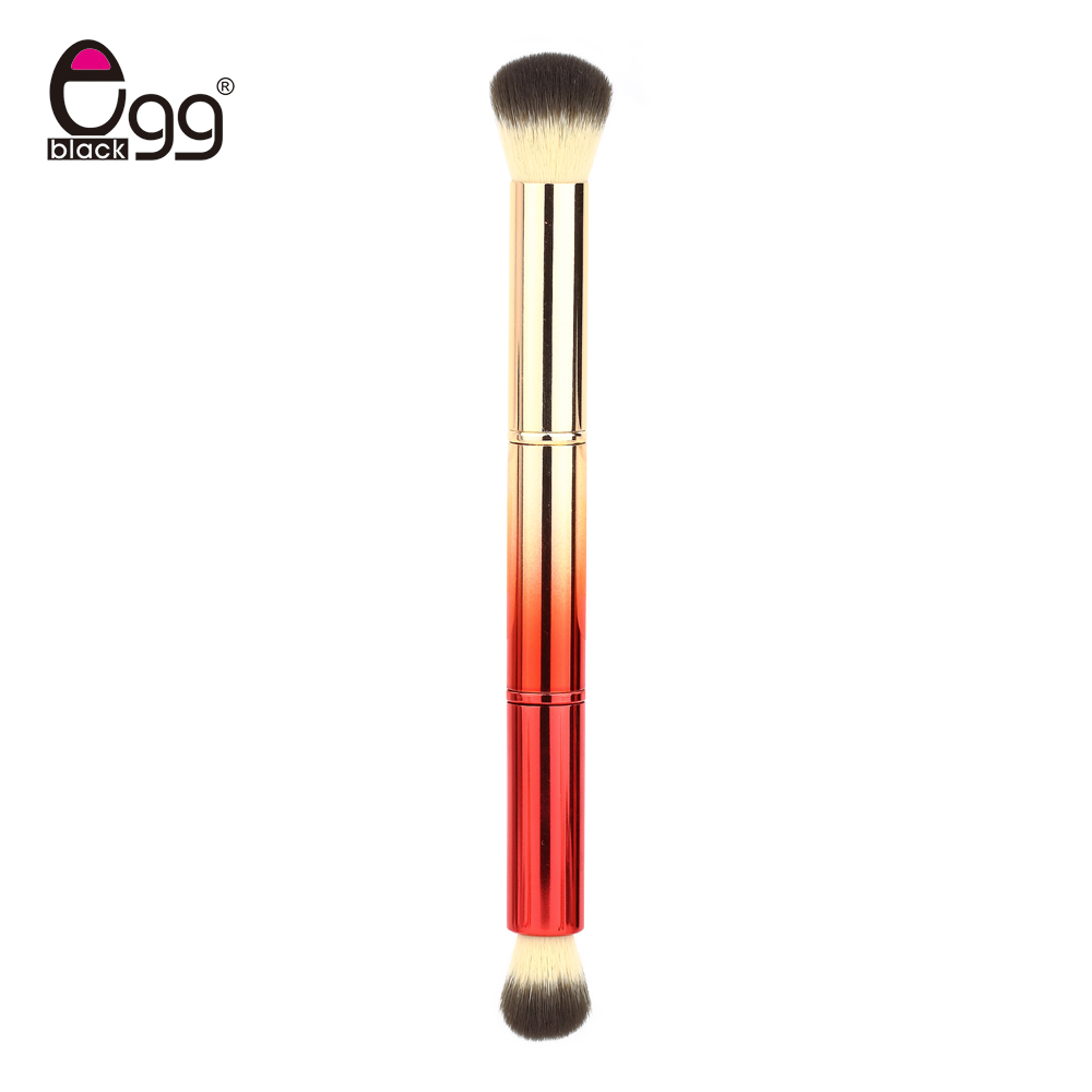 1PCS Double Head Brush Professional Multifunction Cosmetics Eyeshadow Blush Foundation Blusher Makeup Beauty Brushes Tools