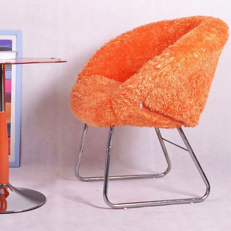 Stylish Minimalist Modern Color Makeup Velvet Leisure Chair IKEA Sofa Computer  Chairs Off Reception Fair In Office Chairs From Furniture On Aliexpress.com  ...