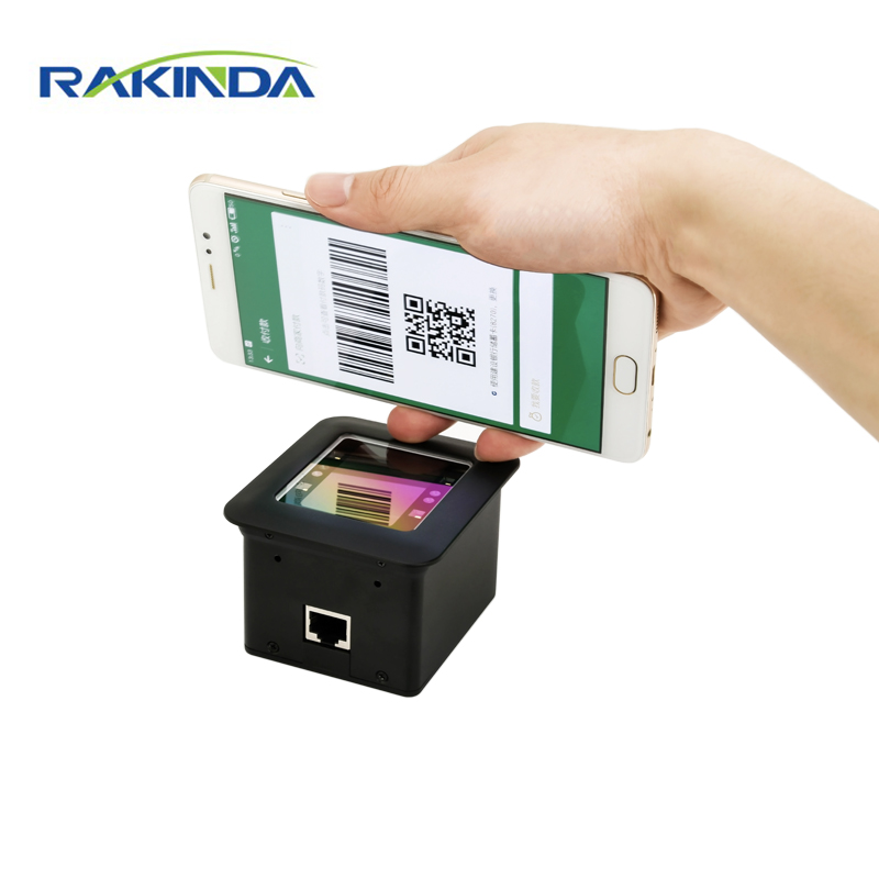 NEW Arrival RAKINDA RD4500R USB RS232 2D Fixed Mount QR Barcode Scanner Module For Kiosk or Turnstile Mobile Payment free shipping lv4200 2d barcode scanner module for kiosk with usb interface