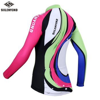 Siilenyond 2019 Pro Winter Thermal Fleece Cycling Jersey Keep Warm Racing Bike Cycling Clothing MTB Bicycle Cycling Clothes 1