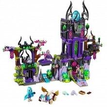 Blocos de Construção do Modelo mylb Compatível Legoes Elfos Laguna Dark Magic Castle Original Brinquedo De Fadas Crianças transporte da gota