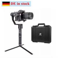 (Можно отправить из Германии) Zhiyun кран v2 3 х позиционный ручной карданный стабилизатор для Nikon Canon sony камера w/мини штатив w/Сумка