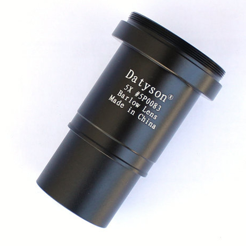 """Image 4 - 5x Barlow Lens 1.25"""" Fully Multi Coated Metal Thread M42 for Astronomical Telescope Eyepiece Ocular Accept T Ring-in Monocular/Binoculars from Sports & Entertainment"""
