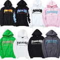 Thrasher Hoodies Men Women Skateboard Magazine Brand Clothing Pullover Flame Blaze Pullover Trasher Sweatshirts Thrasher Hoodies
