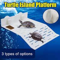 Lovely Hot Turtle Island Platform Aquarium Reptile Hollow Dock Floating Aquarium Decor LXY9 AU16