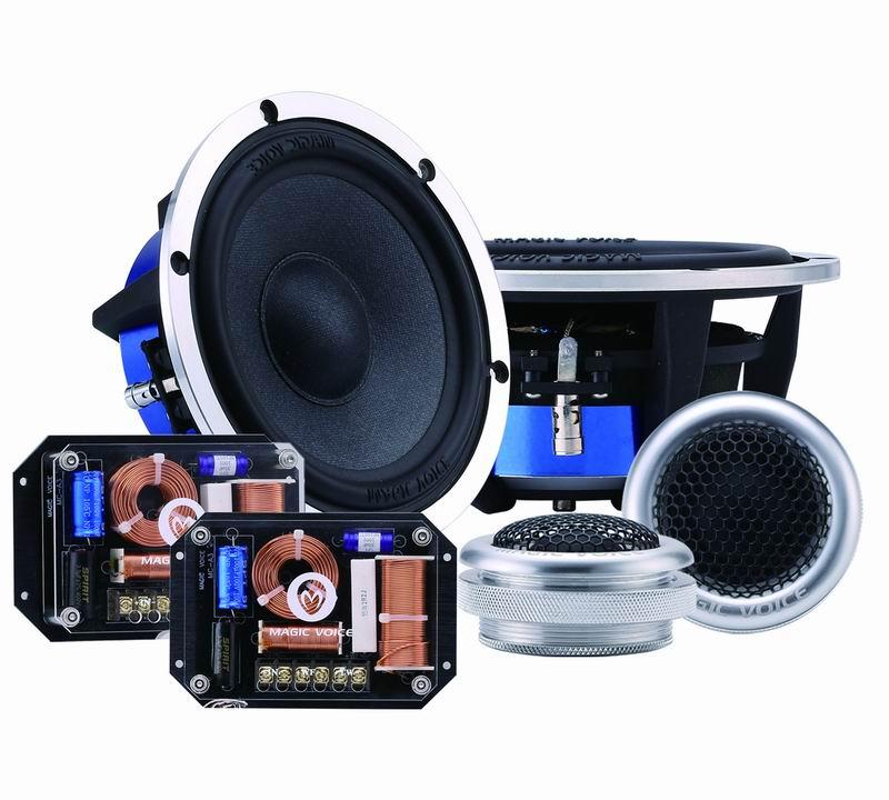 Magic Voice New Come Car Speaker Component 6.5 Inch 200W Hi-Fi Frequency Car Audio Speaker