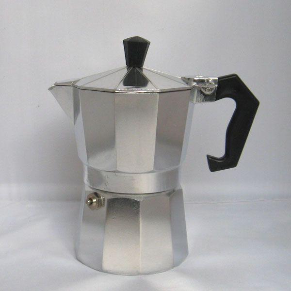 50ml 1 Cup Stovetop Aluminum Espresso Coffee Maker Household Coffee Pot Commercial Moka