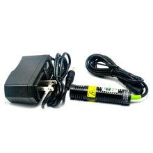 цена на DC5V 10mw 532nm Green Dot Line Beam Laser Diode Module 18mmx75mm AC Adapter US/EU/AU/UK