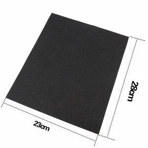 Image 3 - 5 adet ince zımpara fırçalanmış su zımpara kağıdı parlatma taşlama araçları Grit 60 80 120 240 1000 2000 aşındırıcı kağıt