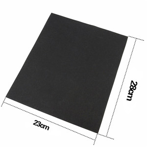 Image 3 - 5 stücke Super Schleifpapier Gebürstet Wasser Schleifpapier Polieren Schleifen Werkzeuge Grit 60 80 120 240 1000 2000 Schleif Papier