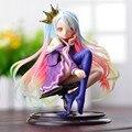No juego No Life 1/8 escala Siro sexy Girl Shiro lindo muñecas Garage Kit Brinquedos Anime figuras de acción juguetes