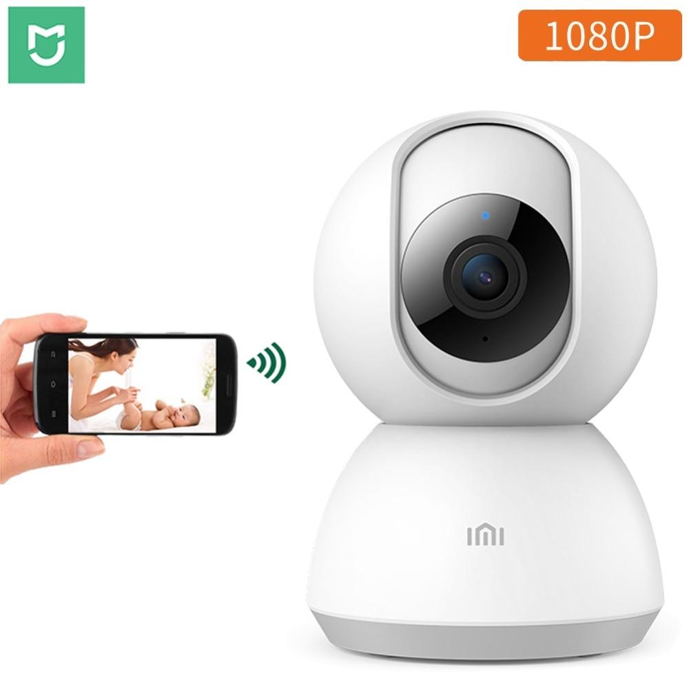 Original Xiaomi Mijia 1080P Smart Camera 360 Angle WIFI Wireless Night Vision xiaomi baby monitor IP Cam Webcam Camcorder