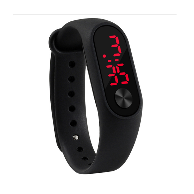 Creative Personality Minimalist Silicone Normal Waterproof LED Watch Men And Women Couple Watch Smart Electronics Casual WatchesCreative Personality Minimalist Silicone Normal Waterproof LED Watch Men And Women Couple Watch Smart Electronics Casual Watches