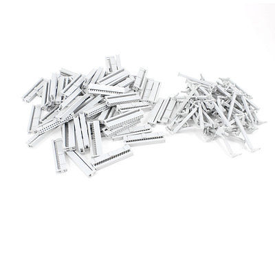 60 Pcs FC1 34P Flat Ribbon Cable 2 Row 34 Pin IDC Socket