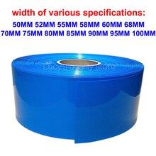 1m 18650 Lithium Battery Pvc Heat Shrinkable Tube Various Polymer Film Skin