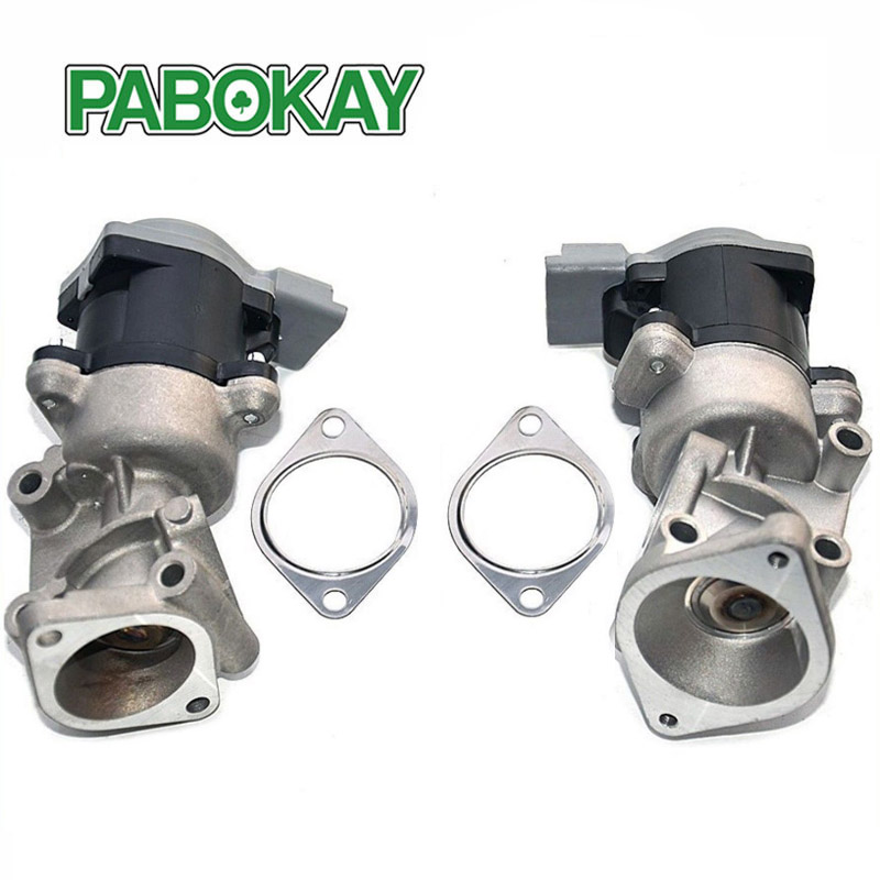 2 Pieces X For Land Rover Discovery MK3 2.7 TD (2004-2009)Front Left & Right EGR Valves LR018324 LR018323 for land rover discovery 3 4