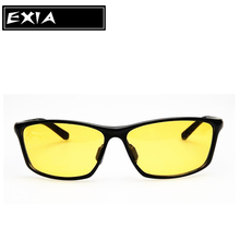 Night Vision Sunglasses for Driving Men Myopia Optical Spectacle CR-39 Polarized Lenses AR Green EXIA OPTICAL KD-337 Series