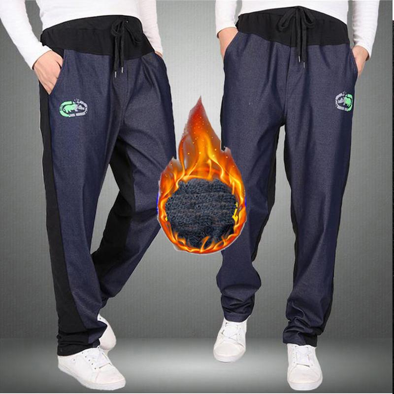 Warm winter pants men Joggers pants Hip Hop pants men clothes 18 Streetwear men's trousers large size XXXL 4XL 5XL 6XL 7XL 8XL 3